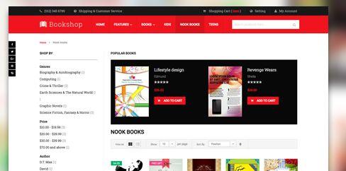 Ub-bookshop-magento-theme