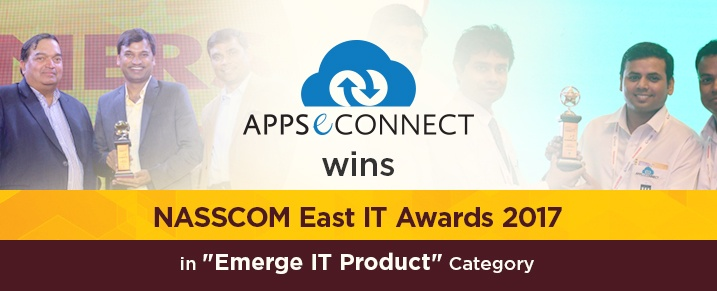 APPSeCONNECT-wins-NASSCOM-East-IT-Awards