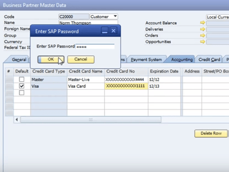 Credit Card Payment Add-ons for SAP Business One | APPSeCONNECT