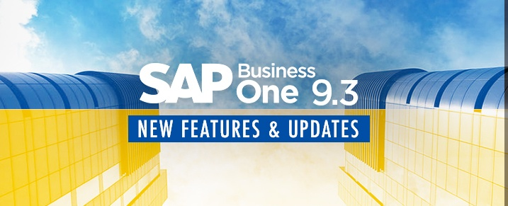 SAP Business One 9 3 - New Features and Updates | APPSeCONNECT