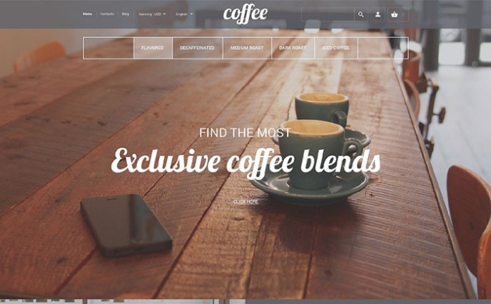 coffee-prestashop-theme
