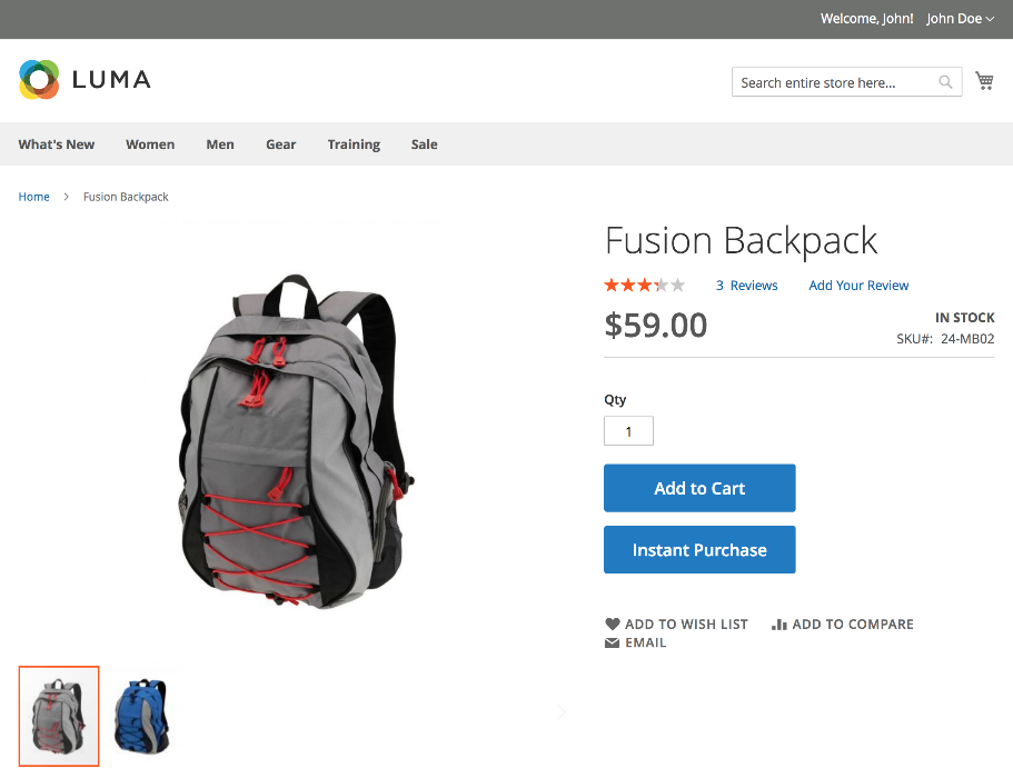 Magento Launches it's own One-Click Checkout - Instant Purchase
