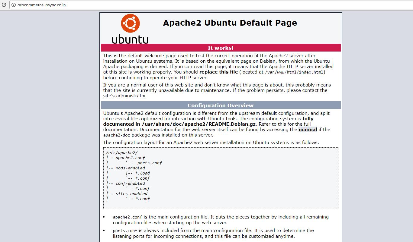 pache2-ubuntu-default-page