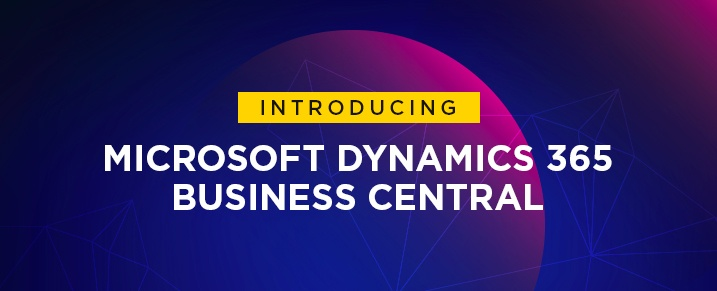 Introducing Microsoft Dynamics 365 Business Central