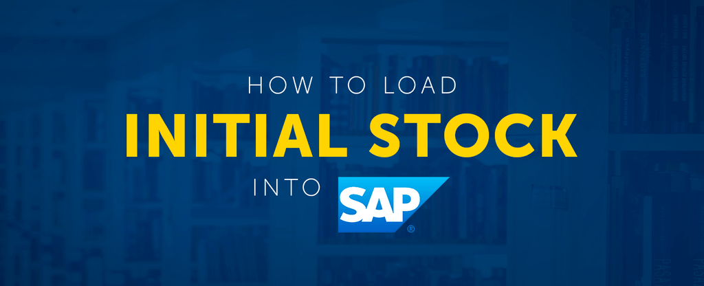 How To Load Initial Stock Into SAP | APPSeCONNECT