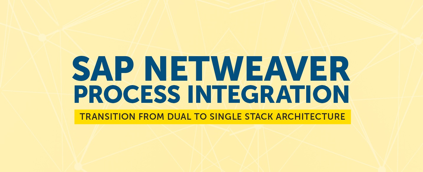SAP-NetWeaver-PI-Transition-From-Dual-To-Single-Stack-Architecture
