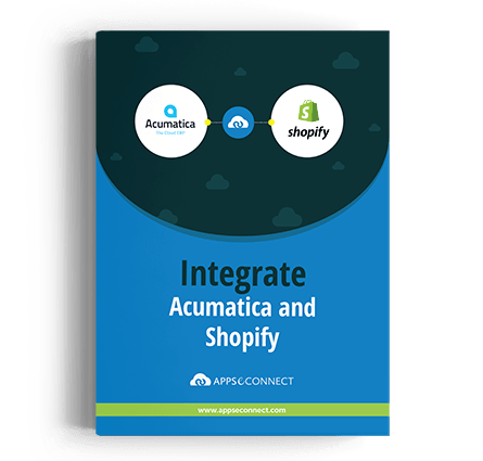 Acumatica-ERP Shopify APPSeCONNECT Integration