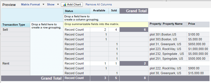 matrix-report-salesforce