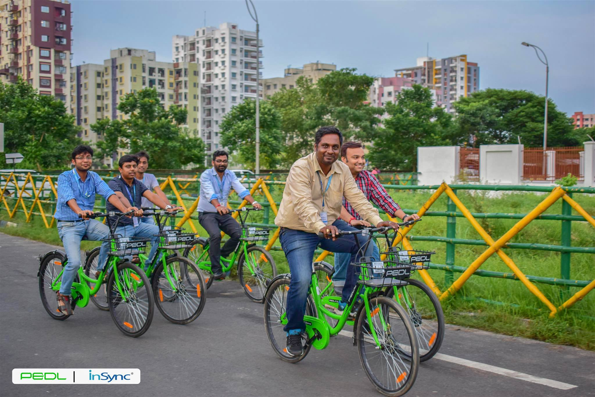 Team-APPSeCONNECT-riding-PEDL-Cycles