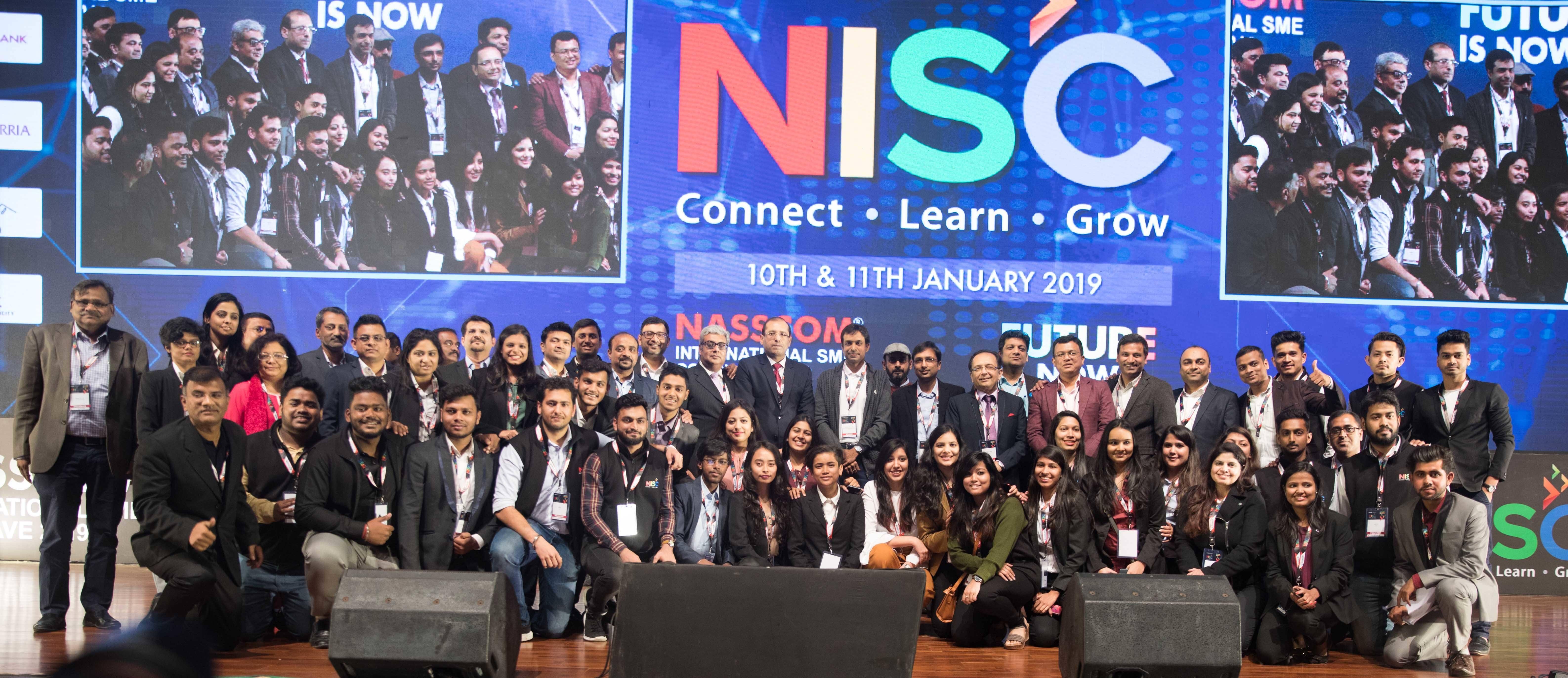 NASSCOM-International-SME-Conclave-2019-Team
