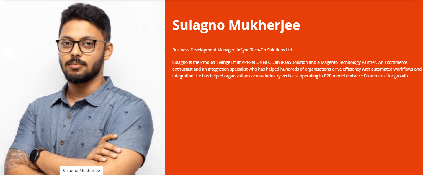 Sulagno-Mukherjee-speaking-at-Meet-Magento-India-2019