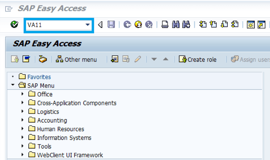 SAP-ECC-Transation-Code
