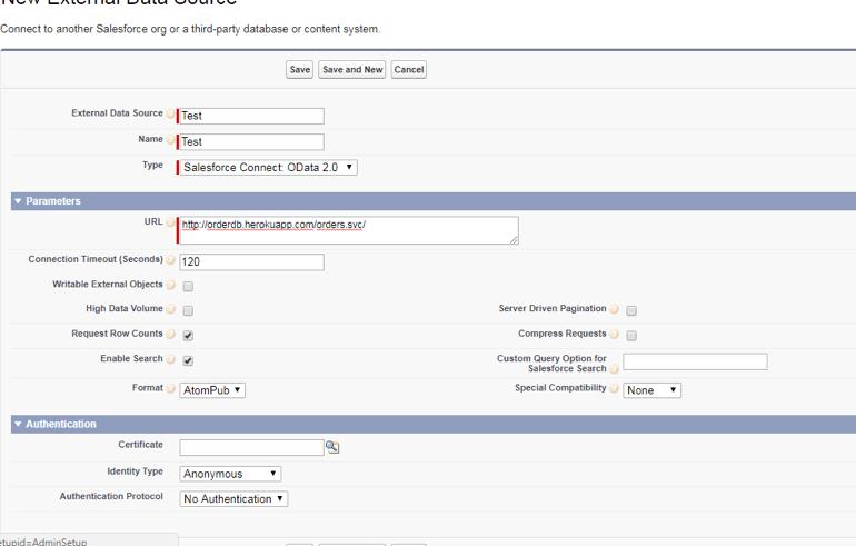 Salesforce-Connect-External-Data-Source