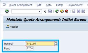 quota-arrangement
