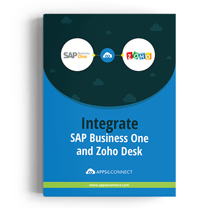 SAP-business-one-and-zoho-Desk-integration