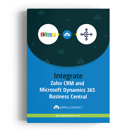 ZohoCRM-Microsoft-Dynamics-365-Business-Central--APPSeCONNECT