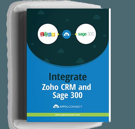 ZohoCRM-Sage-300 APPSeCONNECT