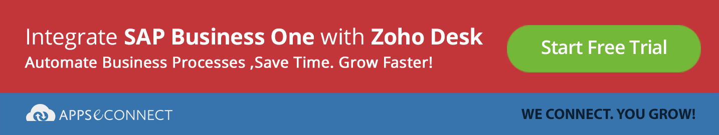 integrate-SAP-Business-One-with-zoho-desk-appseconnect