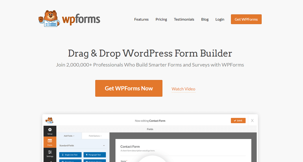 wp-forms-contact form-woocommerce -plugin