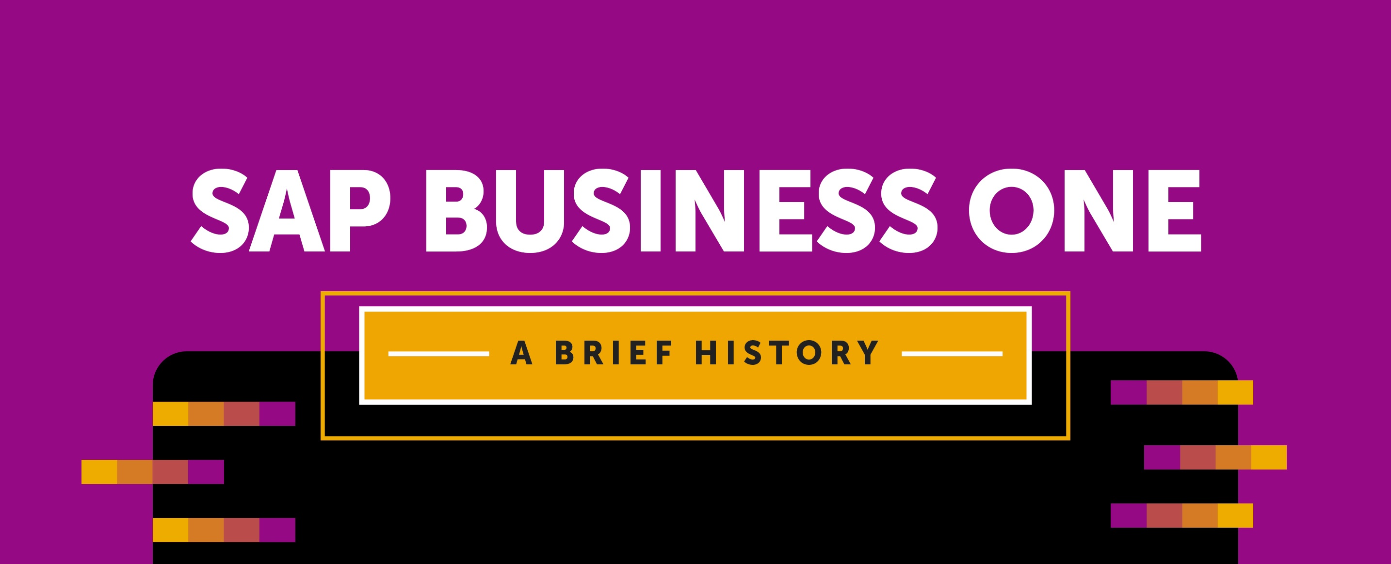 sap-business-one-history