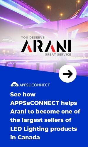 APPSeCONNECT Success Story Arani Canada