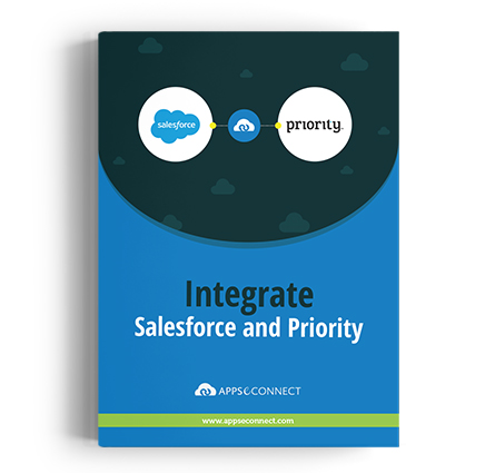 Integrate Salesforce with Priority using APPSeCONNECT