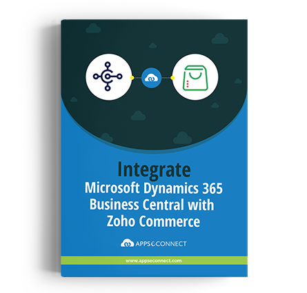 Microsoft Dynamics 365 Business Central  with Zoho Commerce