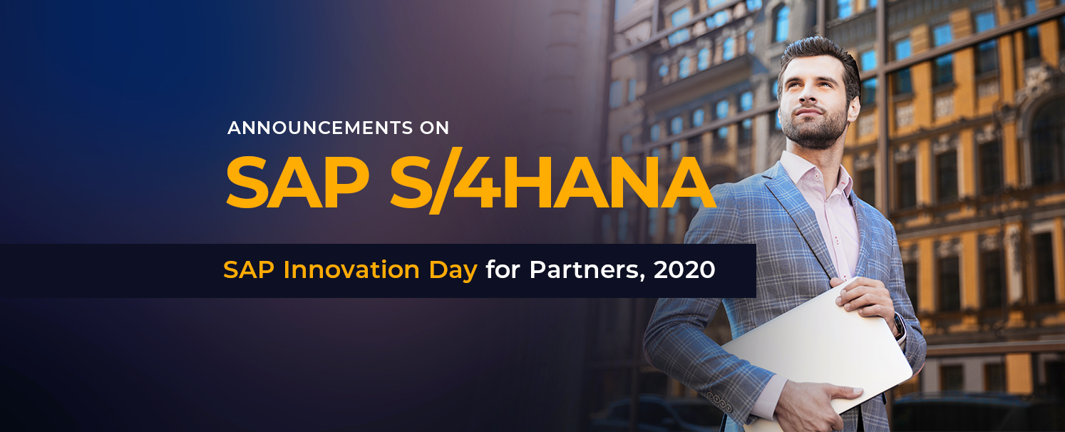 SAP Innovation Day for Partners- Announcements on S4 HANA copy