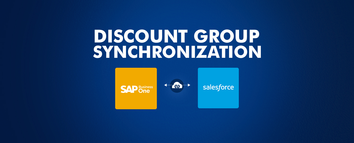 Discount Group Synchronization from SAP Business One to Salesforce