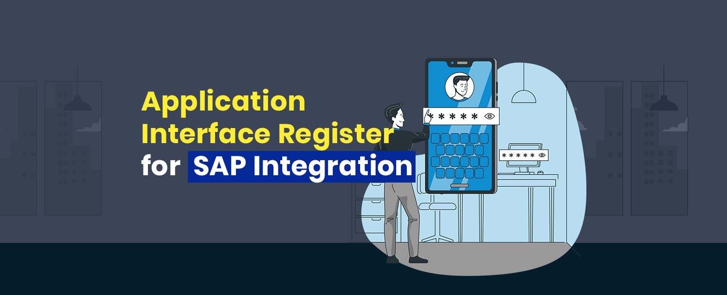 Application Interface Register for SAP Integration