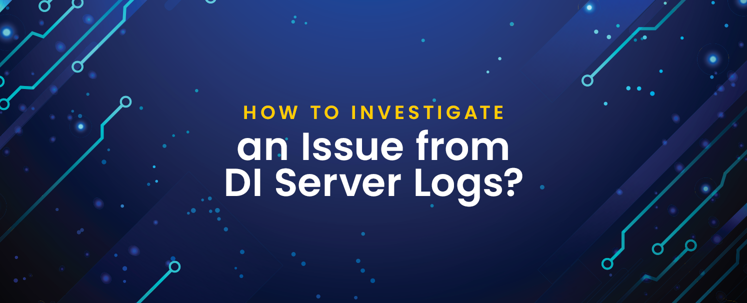 An Issue from DI Server Logs