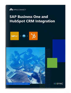 sap-business-one-hubspotcrm-integration-brochure-cover