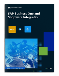 sap-business-one-shopware-integration-brochure-cover