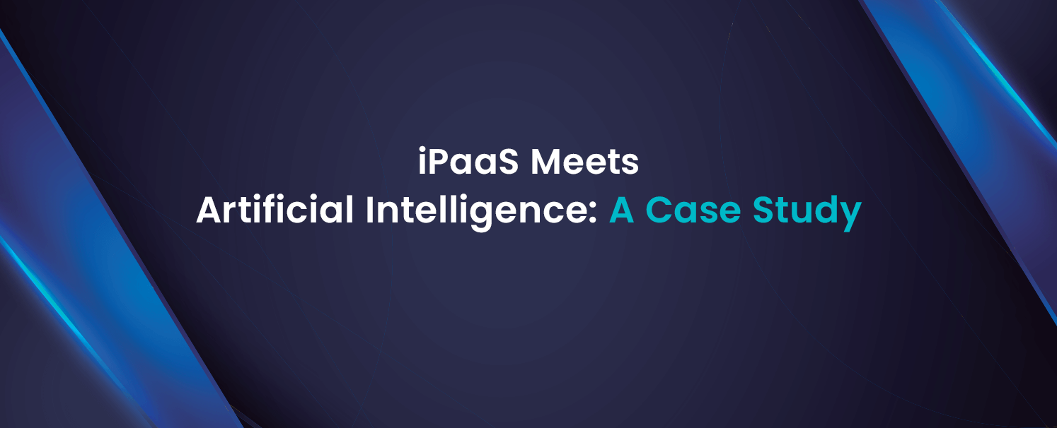 iPaaS meets Artificial Intelligence A Case Study